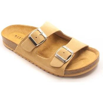 Zapatos Mujer Zuecos (Mules) Tiziana 95 Beige