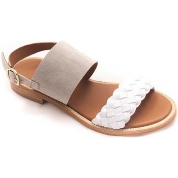 Zapatos Mujer Sandalias Calce 909 Blanco