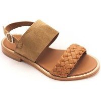 Zapatos Mujer Sandalias Calce 909 Beige