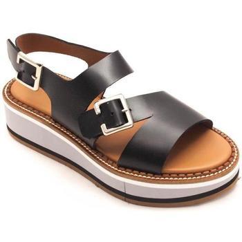 Zapatos Mujer Sandalias Calce 945 Negro