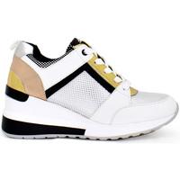 Zapatos Mujer Zapatillas bajas Exé Shoes ZAPATILLAS PLATAFORMA DE EXE BICOLOR  EX21A34-3 Color Blanco