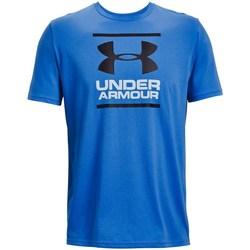 textil Hombre Camisetas manga corta Under Armour GL Foundation Azul