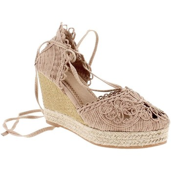 Zapatos Mujer Alpargatas Blogger BIG-19029-17 Beige