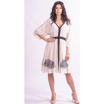textil Mujer Vestidos cortos Fracomina F321SD2002W41801 Incoloro