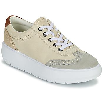 Zapatos Mujer Zapatillas bajas Geox KAULA Gris