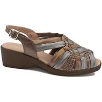 Zapatos Mujer Sandalias Gasymar 4582 Blanco