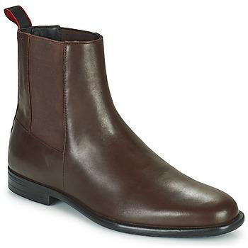Zapatos Hombre Botas de caña baja HUGO KYRON CHEB Marrón