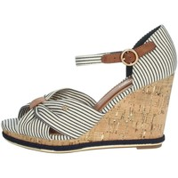 Zapatos Mujer Sandalias Wrangler WL11652A Blanco/Azul