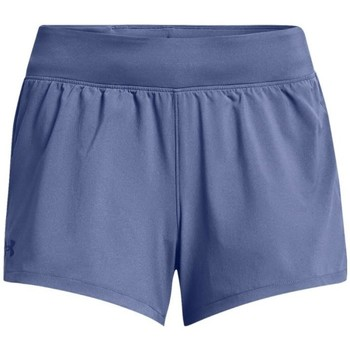 textil Mujer Pantalones Under Armour Launch SW 3 Short Azul