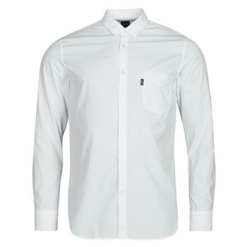 textil Hombre Camisas manga larga BOSS MAGNETON Blanco
