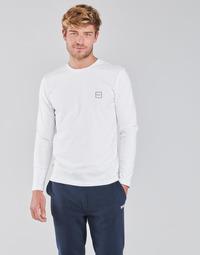 textil Hombre Camisetas manga larga BOSS TACKS Blanco
