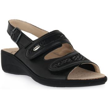 Zapatos Mujer Sandalias Grunland NERO 68ESTA Nero