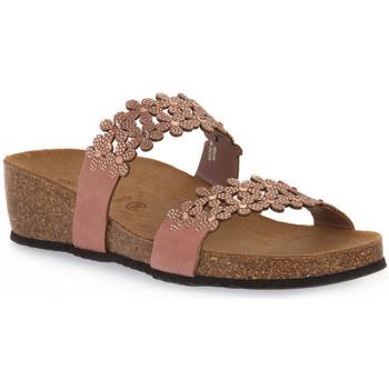 Zapatos Mujer Zuecos (Mules) Grunland CIPRIA 70MEMI Rosa