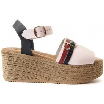Zapatos Mujer Sandalias Purapiel 70213 WHITE