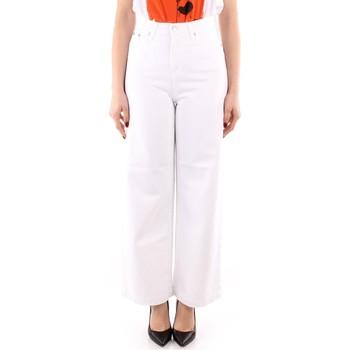 textil Mujer Pantalones fluidos Roy Rogers P21RND091P3211755 BLANCO