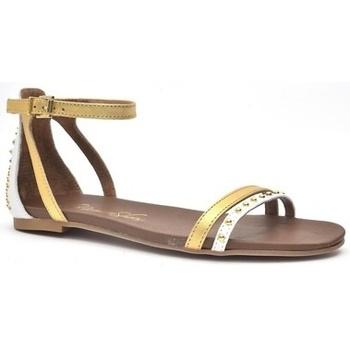 Zapatos Mujer Sandalias Alpe LARA Blanco