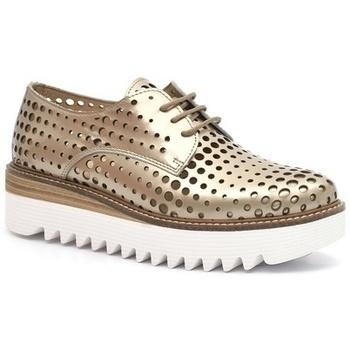 Zapatos Mujer Derbie Alpe LISA Platino