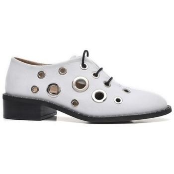 Zapatos Mujer Derbie Alpe VOGUE Blanco