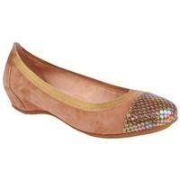 Zapatos Mujer Bailarinas-manoletinas Alpe BEAUTY Taupe