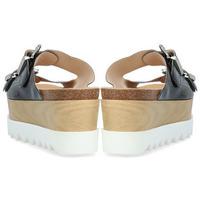 Zapatos Mujer Zuecos (Mules) Alpe LUXURY Negro