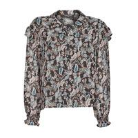 textil Mujer Tops / Blusas Betty London OCARA Negro / Multicolor