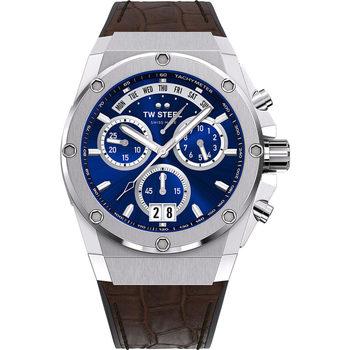 Relojes & Joyas Hombre Relojes analógicos Tw-Steel ACE111, Quartz, 44mm, 20ATM Plata