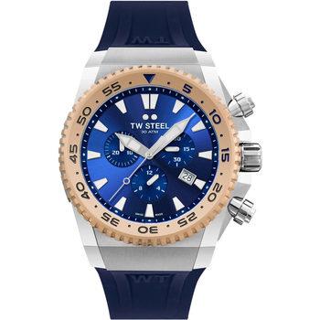 Relojes & Joyas Hombre Relojes analógicos Tw-Steel ACE402, Quartz, 44mm, 30ATM Plata