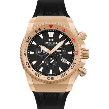 Relojes & Joyas Hombre Relojes analógicos Tw-Steel ACE403, Quartz, 44mm, 30ATM Oro