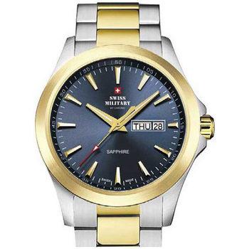 Relojes & Joyas Hombre Relojes analógicos Swiss Military By Chrono Swiss  Military SMP36040.28, Quartz, 42mm, 5ATM Oro