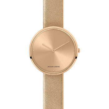 Relojes & Joyas Mujer Relojes analógicos Jacques Lemans 1-2056I, Quartz, 36mm, 5ATM Oro
