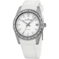 Relojes & Joyas Hombre Relojes analógicos Jacques Lemans 1-2060B, Quartz, 39mm, 10ATM Plata