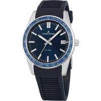 Relojes & Joyas Hombre Relojes analógicos Jacques Lemans 1-2060C, Quartz, 39mm, 10ATM Plata
