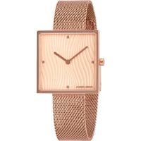 Relojes & Joyas Mujer Relojes analógicos Jacques Lemans 1-2094F, Quartz, 30mm, 5ATM Oro