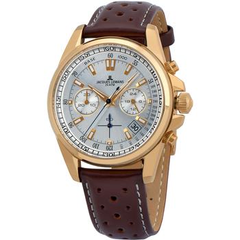Relojes & Joyas Hombre Relojes analógicos Jacques Lemans 1-1830M, Quartz, 40mm, 10ATM Oro