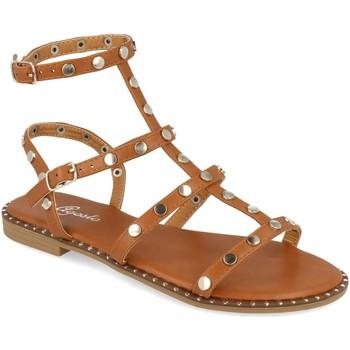 Zapatos Mujer Sandalias Tephani TF2255 Camel