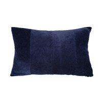 Casa Cojines Present Time RIBBED Azul / Noche