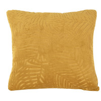 Casa Cojines Present Time PALM LEAVES Caramelo