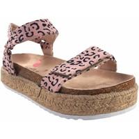 Zapatos Niña Sandalias MTNG Sandalia niña MUSTANG KIDS 48267 leopardo Multicolor