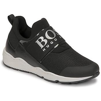 Zapatos Niño Zapatillas bajas BOSS FETINA Negro