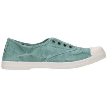 Zapatos Mujer Bailarinas-manoletinas Natural World 102E  689 Mujer Verde vert