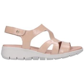 Zapatos Mujer Sandalias Giorda 21868 CHAROL TAUPE Mujer Taupe marron