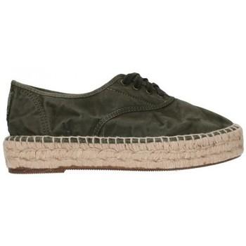 Zapatos Hombre Alpargatas Natural World 687E  622 Mujer Kaki vert