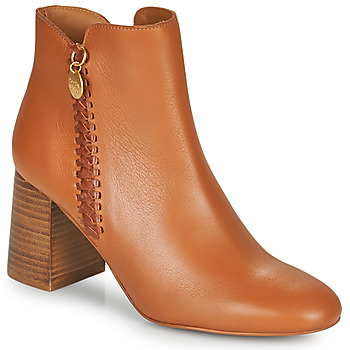 Zapatos Mujer Botines See by Chloé LOUISEE Camel