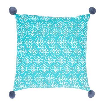 Casa Cojines Jardin d'Ulysse CAP-OUEST Azul