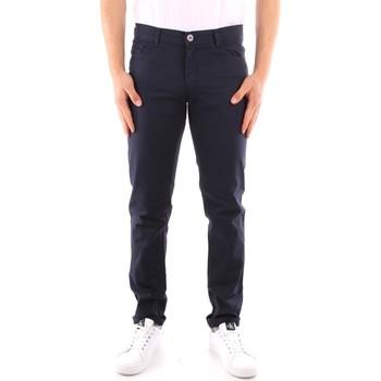 textil Hombre Pantalones con 5 bolsillos Trussardi 52J00007 1Y000163 AZUL MARINO