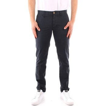 textil Hombre Pantalones con 5 bolsillos Blauer 21SBLUP01244 AZUL