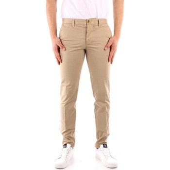 textil Hombre Pantalones con 5 bolsillos Blauer 21SBLUP01244 BEIGE