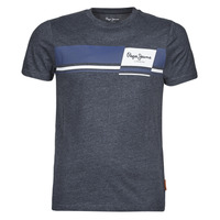 textil Hombre Camisetas manga corta Pepe jeans KADE Azul