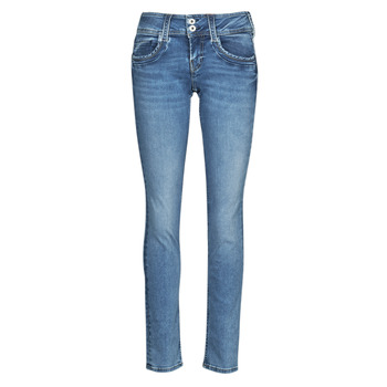 textil Mujer Vaqueros rectos Pepe jeans GEN Azul