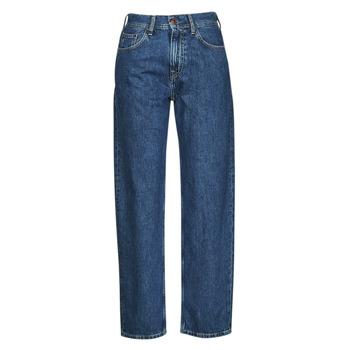 textil Mujer Vaqueros rectos Pepe jeans DOVER Azul / Medium
